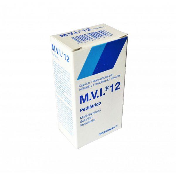 M.V.I. 12 PEDIATRICO